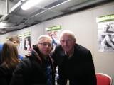Bob Wilson Arsenal goalkeeper now commentator