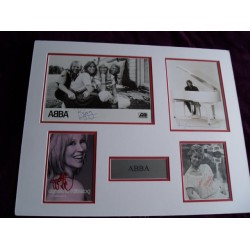 ABBA autograph 2