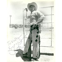 James Coburn autograph (dedicated) (The Honkers)