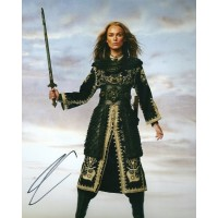 Keira Knightley autograph 1 (Pirates of the Caribbean)