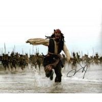 Johnny Depp autograph 4 (Pirates of the Caribbean)