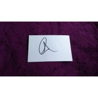 Al Pacino autograph 2 (The Godfather; Scarface)