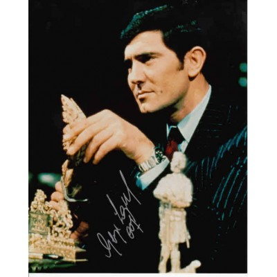George Lazenby autograph 2 (James Bond)