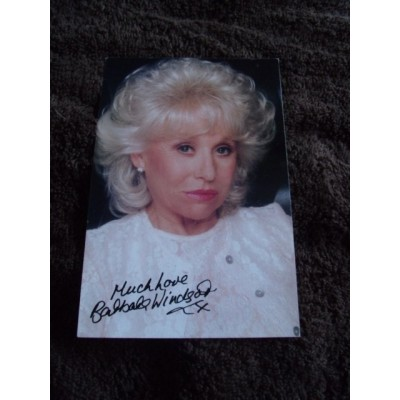 Barbara Windsor autograph