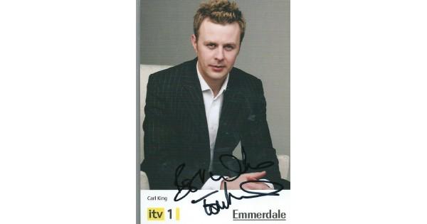 Tom Lister autograph (Emmerdale)