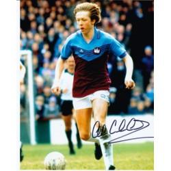 Alan Curbishley autograph (West Ham)