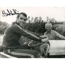 Alan Minter autograph