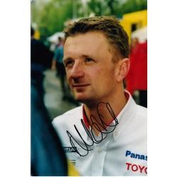 Allan McNish autograph