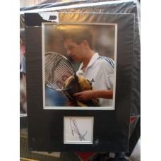 Tim Henman autograph