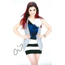 Ariana Grande autograph (Victorious)