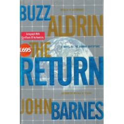 Buzz Aldrin Signed Book (The Return)