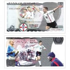 Novelty Banknote - England Football Team £5