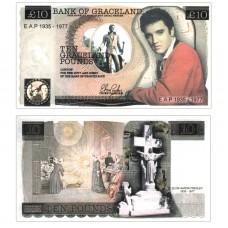 Novelty Banknote - Elvis Presley £10