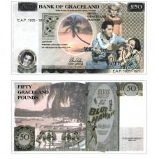 Novelty Banknote - Elvis Presley £50