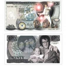 Novelty Banknote - Elvis Presley £20