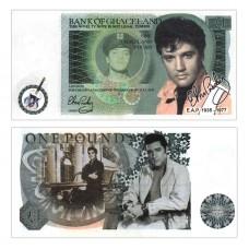 Novelty Banknote - Elvis Presley £1