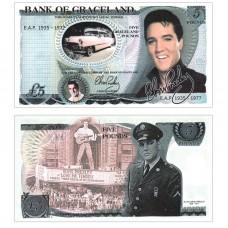 Novelty Banknote - Elvis Presley £5