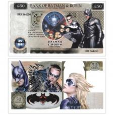 Novelty Banknote - Batman & Robin £50
