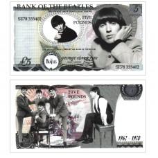 Novelty Banknote - Beatles George Harrison £5