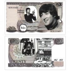 Novelty Banknote - Beatles John Lennon £20