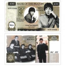 Novelty Banknote - Beatles Paul McCartney £50