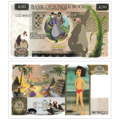 Novelty Banknote - Jungle Book £50