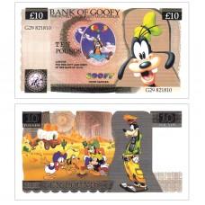 Novelty Banknote - Goofy £10