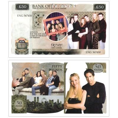 Novelty Banknote - Friends £50