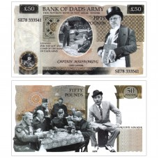 Novelty Banknote - Dads Army £50