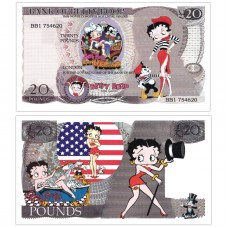 Novelty Banknote - Betty Boop £20