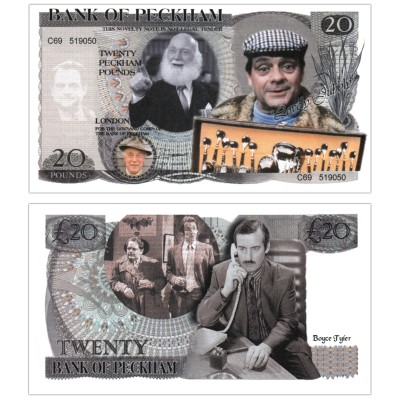 Novelty Banknote - Only fools and horses £20