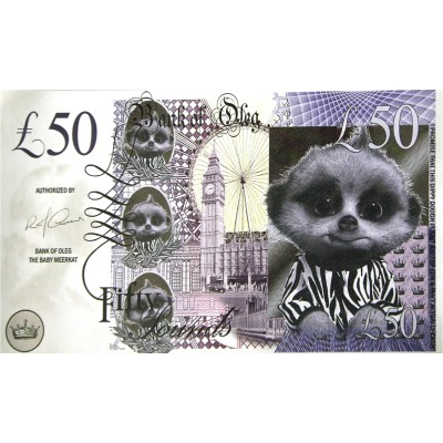 Novelty Banknote - Meercat