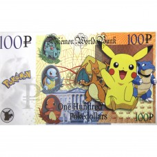Novelty Banknote - Pokeman
