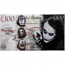 Novelty Banknote - Gotham/Joker