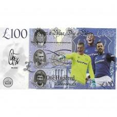 Novelty Banknote - everton 2