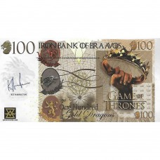 Novelty Banknote - Game of Thrones 3