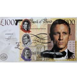 Novelty Banknote - James Bond