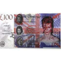 Novelty Banknote - David Bowie