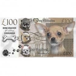 Novelty Dog Banknote - Chihuahua