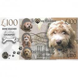 Novelty Dog Banknote - Cockapoo