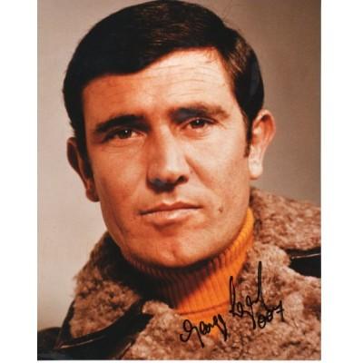 George Lazenby autograph (as James Bond)