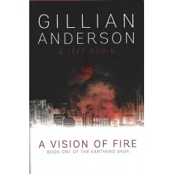 Gillian Anderson Signed Book (A Vision of Fire)