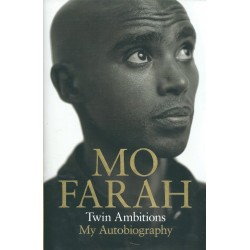 Mo Farah Signed Book (Twin Ambitions: My Autobiography)