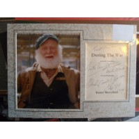 Buster Merryfield autograph (Only Fools and Horses)