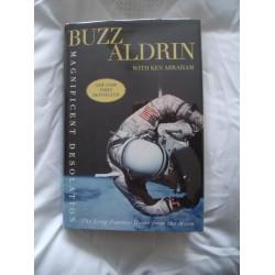 Buzz Aldrin Signed Book (Magnificent Desolation)