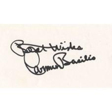 Carmen Basilio autograph