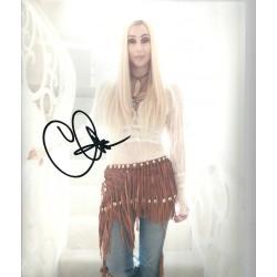 Cher autograph