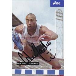 Colin Jackson autograph