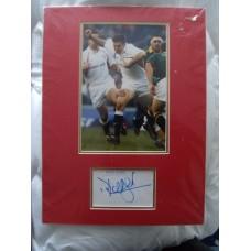 Dan Luger autograph (England)