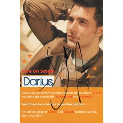 Darius autograph